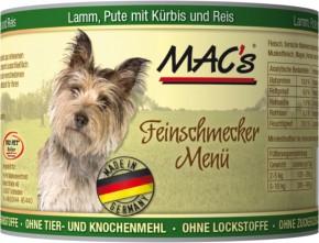 Macs Dog Lamm, Pute und Kürbis 200 g