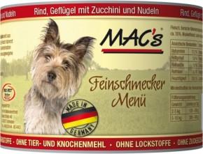 Macs Dog Rind, Geflügel und Zucchini 200 g