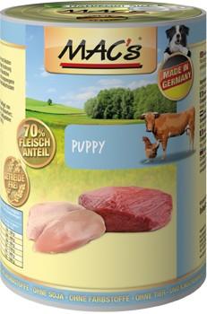 Macs Dog Welpen Geflügel, Herzen & Leber 400 g