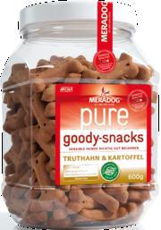 Mera Dog Pure Goody Snacks Truthahn & Kartoffel 600 g