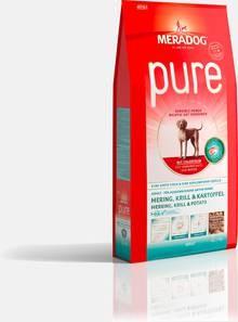 Mera Dog Pure Hering, Krill & Kartoffel 4 kg oder 12,5 kg (SPARTIPP: unsere Staffelpreise)