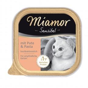 Miamor Cat Sensible mit Pute und Pasta 16 x 100 g