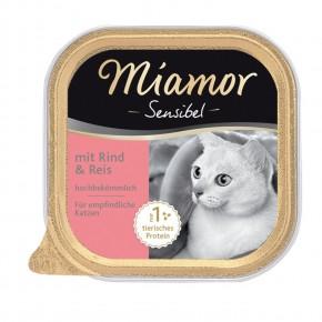 Miamor Cat Sensible mit Rind und Reis 16 x 100 g