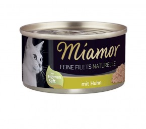 Miamor Feine Filets Naturelle mit Huhn pur 80 g