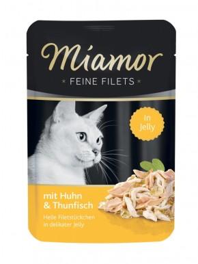 Miamor Feine Filets mit Huhn und Thunfisch in Jelly 24 x 100 g