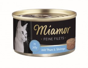 Miamor Feine Filets mit Thunfisch und Shrimps in Jelly 100 g