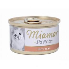 Miamor Fleischpastete mit Fasan 85 g