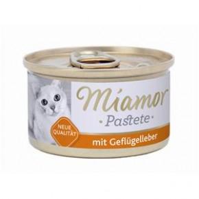 Miamor Fleischpastete mit Geflügelleber 85 g
