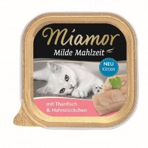 Miamor Milde Mahlzeit Kitten mit Thunfisch 16 x 100 g