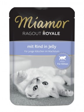 Miamor Ragout Royal Kitten mit Rind in Jelly 22 x 100 g