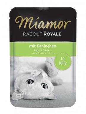 Miamor Ragout Royal mit Kaninchen in Jelly 22 x 100 g