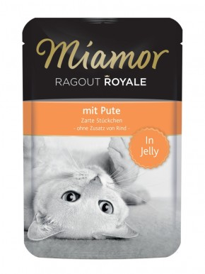 Miamor Ragout Royal mit Pute in Jelly 22 x 100 g