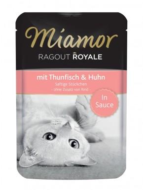 Miamor Ragout Royal mit Thunfisch und Huhn in Sauce 22 x 100 g