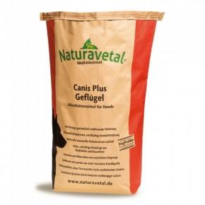 Naturavetal Canis Plus Geflügel 5 kg oder 15 kg