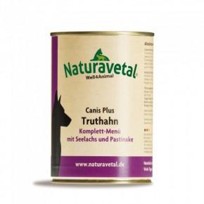 Naturavetal Canis Plus Truthahn Komplett Menü 410 g oder 820 g