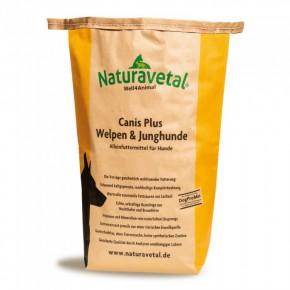 Naturavetal Canis Plus Welpen & Junghunde 5 kg oder 15 kg