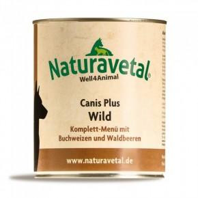 Naturavetal Canis Plus Wild Komplett Menü 6 x 820 g