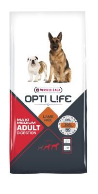 Opti Life Adult Digestion Medium & Maxi 12,5 kg (SPARTIPP: unsere Staffelpreise)