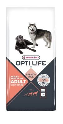 Opti Life Adult Medium & Maxi Skin Care 12,5 kg (SPARTIPP: unsere Staffelpreise)