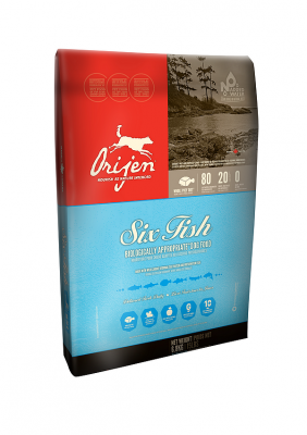 Orijen Dog Adult 6-Fish Whole Prey 6 kg