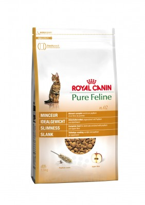 Royal Canin Feline Pure No. 02 Idealgewicht Reich an Huhn 300 g
