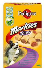 Pedigree Snack Markies Trios 10 x 900 g