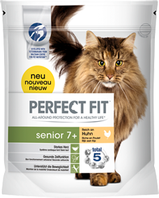 Perfect Fit Cat Senior 7+ reich an Huhn 750 g