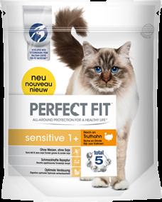 Perfect Fit Cat Sensitive reich an Truthahn 750 g oder 1,4 kg (SPARTIPP: unsere Staffelpreise)