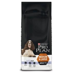 Pro Plan Dog Adult 7+ Medium Large 3 kg oder 14 kg (SPARTIPP: unsere Staffelpreise)