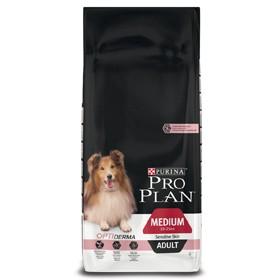 Pro Plan Dog Adult Medium Sensitive Skin 3 kg oder 14 kg (SPARTIPP: unsere Staffelpreise)