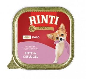 Rinti Gold Mini mit Ente und Geflügel 100 g