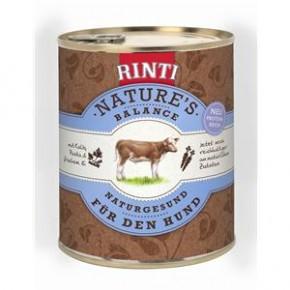 Rinti Natures Balance Junior mit Kalb, Pasta und frischem Ei 800 g