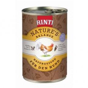 Rinti Natures Balance mit Huhn, Reis und frischem Ei 400 g