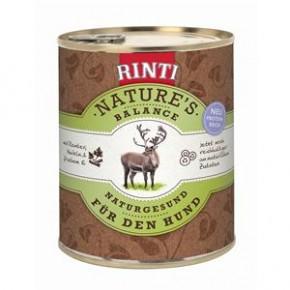 Rinti Natures Balance mit Rentier, Nudeln und frischem Ei 800 g