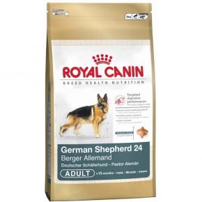 Royal Canin Breed German Shepherd Adult 24 Deutscher Schäferhund 24 Adult 3 kg oder 12 kg (SPARTIPP: unsere Staffelpreise)
