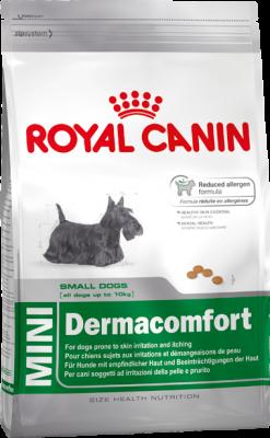 Royal Canin Size Health Nutrition Dermacomfort 26 Mini 800 g oder 4 kg (SPARTIPP: unsere Staffelpreise)