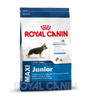 Royal Canin Size Maxi Junior 4 kg, 10 kg oder 15 kg (SPARTIPP: unsere Staffelpreise)