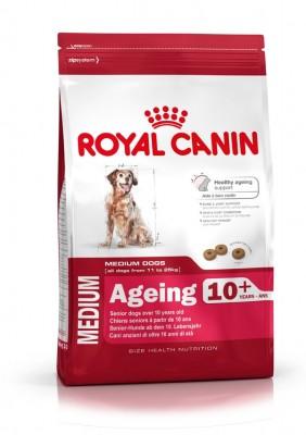 Royal Canin Size Medium Ageing 10+, 3 kg oder 15 kg (SPARTIPP: unsere Staffelpreise)