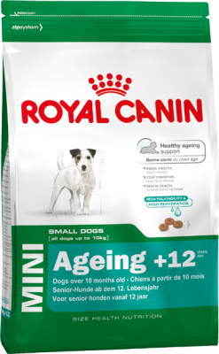 Royal Canin Size Mini Ageing +12, 800 g, 1,5 kg oder 3,5 kg (SPARTIPP: unsere Staffelpreise)
