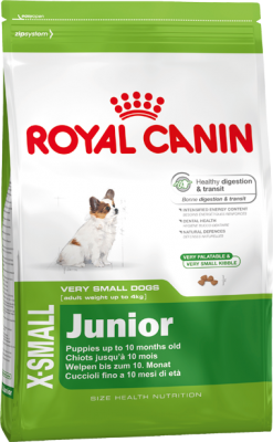 Royal Canin X-Small Junior 500 g, 1,5 kg oder 3 kg (SPARTIPP: unsere Staffelpreise)