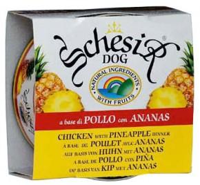 Schesir Dog Huhn mit Ananas 150 g