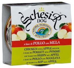 Schesir Dog Huhn mit Apfel 150 g