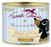 Terra Canis für Welpen Geflügel mit Kürbis, Kamille und Blütenpollen 200 g