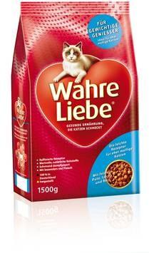 Wahre Liebe Mollige Katze 1,5 kg