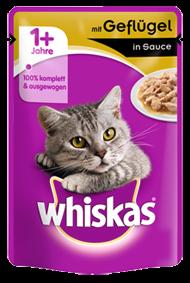 Whiskas mit Geflügel in Sauce 24 x 100 g