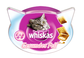 Whiskas Gesundes Fell 8 x 50 g