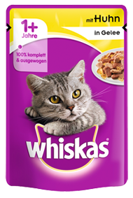 Whiskas mit Huhn in Gelee 24 x 100 g