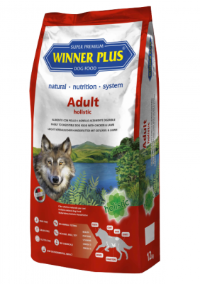 Winner Plus Holistic Adult 2 kg oder 12 kg (SPARTIPP: unsere Staffelpreise)