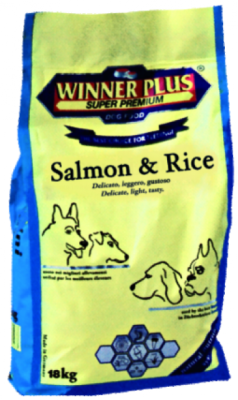 Winner Plus Salmon Fish & Rice 3 kg oder 18 kg