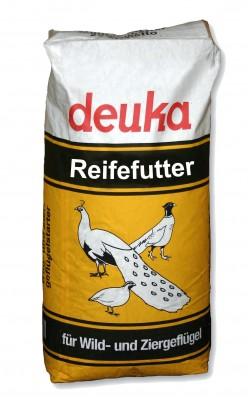 deuka Wild- und Ziergeflügel Reifefutter 25 kg
